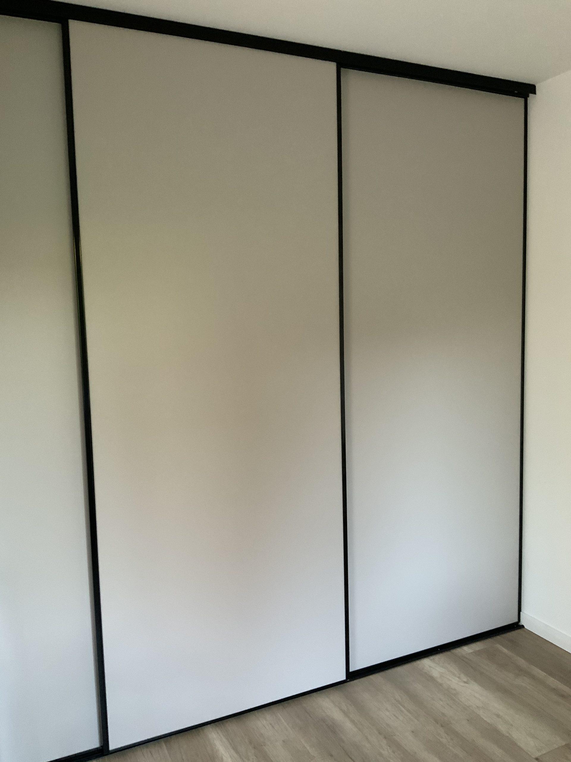 Création de portes de placards et d